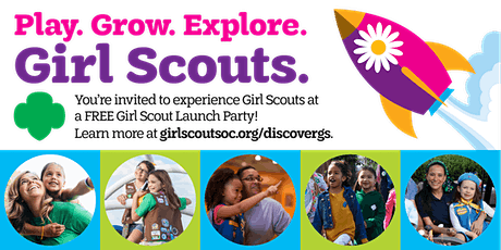 Girl Scout Launch Party tickets