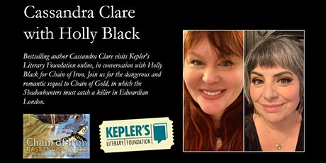 Cassandra Clare with Holly Black billets