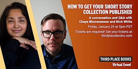 How To Get Your Short Story Collection Published: A Conversation and Q&A tickets