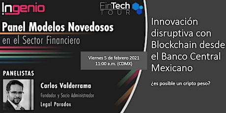 FinTech Tour | CBDCs = Bancos Centrales y Criptomonedas boletos