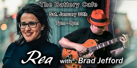 Rea with Brad Jefford @ The Battery Cafe tickets