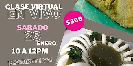 """Clase Online """"Roscas de Tamal"""" con Chef Liza Ojeda boletos"""