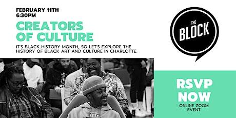 Creators Of Culture tickets