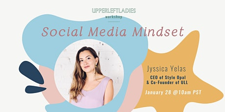 Social Media Mindset Workshop tickets