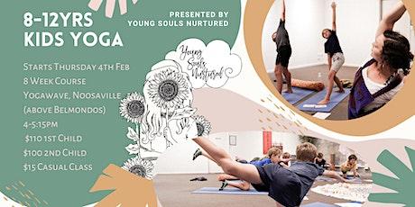 Kids Yoga 8-12 Years tickets