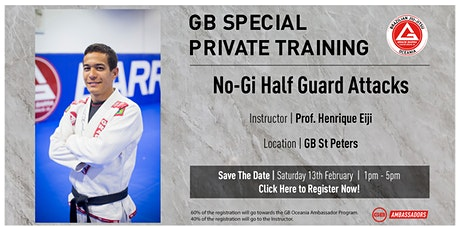 GB Special Private Training At GB St Peters tickets