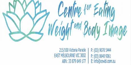 Enhanced CBT for Eating Disorders - Presented by Anthea Fursland tickets