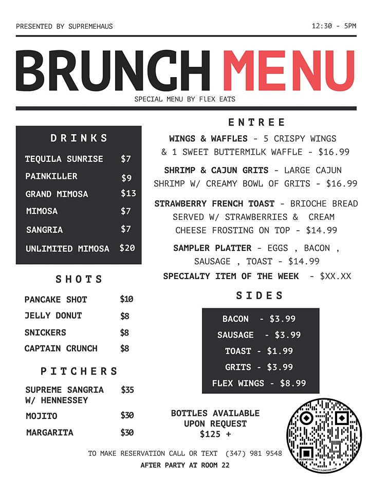"""Orlando's #1 Sunday Brunch Party """"ON THE SEVENTH DAY WE BRUNCH !"""" image"""