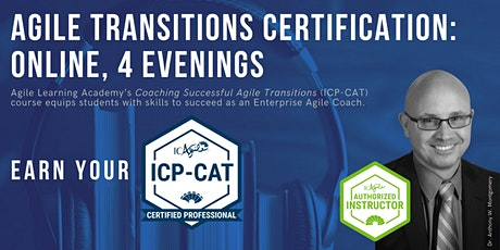 ICAgile Coaching Successful Agile Transitions (ICP-CAT) | Online | Feb 2021 tickets