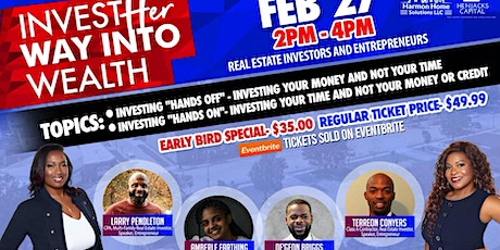 """""""InvestHER Way In to Wealth"""" tickets"""