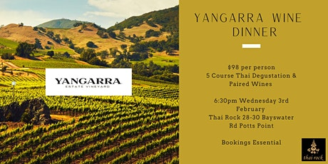 Yangarra Wine Dinner tickets