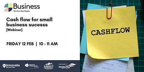 Cash flow for small business [webinar] tickets