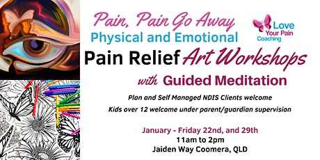 Pain Relief Art Workshops tickets