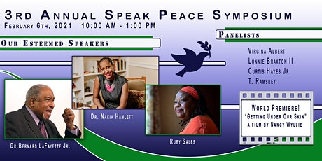 3rd Annual Speak Peace Symposium tickets