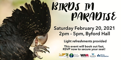 Birds in Paradise tickets