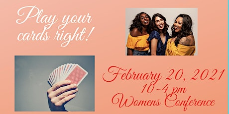 Play Your Cards Right  2021- Womens Conference tickets