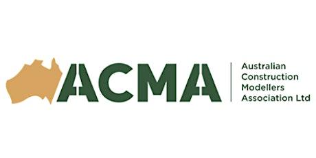 Australian Construction Modellers Association | WA Inaugural Introduction tickets
