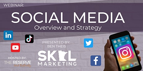 Social Media Overview & Strategy tickets