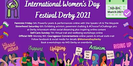 International Women's Day Derby Festival tickets