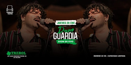Dani Guardia En Trébol tickets