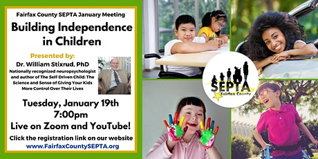 Building Independence in Children with Dr. William Stixrud tickets