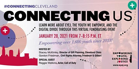 #ConnectingCleveland & Connecting Us Virtual Fundraising Event tickets