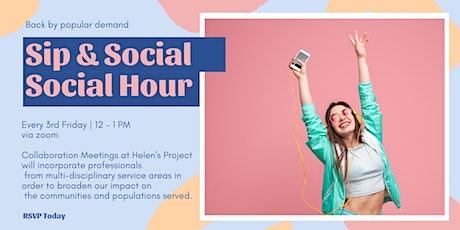 Sip & Social, Social Hour tickets