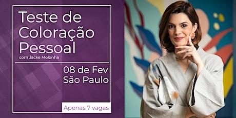 Teste de Coloração Pessoal - São Paulo ingressos