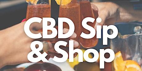 CBD SIP & SHOP tickets