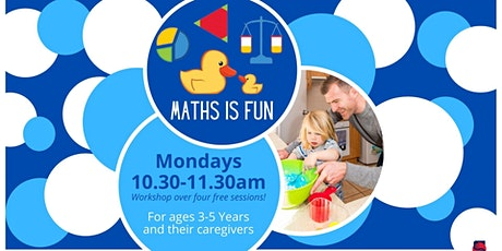Maths Is Fun in Libraries - Hub Library tickets