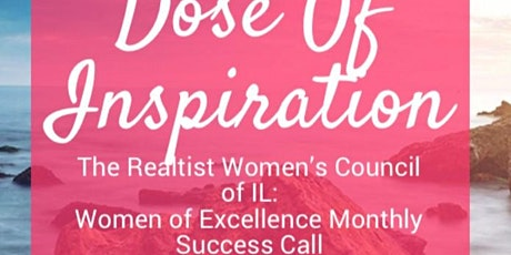 Women of Excellence Success Call - 1st Monday of Each Month tickets