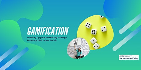 Gamification - Leveling Up Your Marketing Strategy tickets