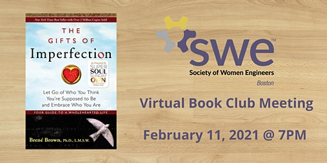 SWE Book Club - The Gifts of Imperfection tickets