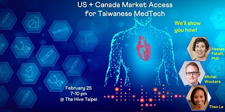 USA+Canada Market Access for Taiwanese Digital Health tickets