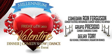Valentine's Dinner, Comedy Show & Dance tickets