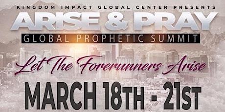 Arise & Pray Global Prayer Summit tickets