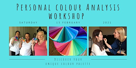 Personal Colour Analysis Workshop tickets
