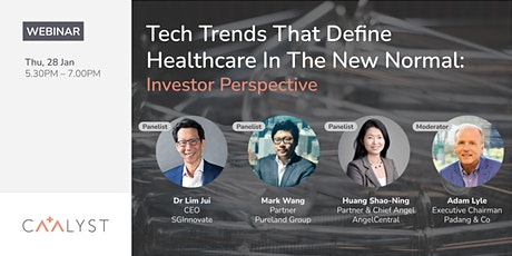 Tech Trends That Define Healthcare In The New Normal: Investor Perspective tickets