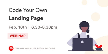 Code Your Own Landing Page with HTML & CSS tickets