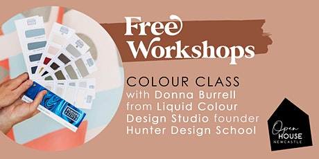 Colour Class with Donna Burrell from Liquid Colour tickets