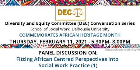 Panel Discussion on Fitting African Centred Perspectives into Social Work tickets