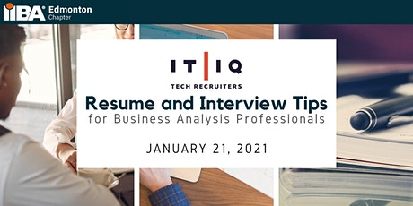 Lunch and Learn: Resume and Interview Tips for BA Professionals tickets