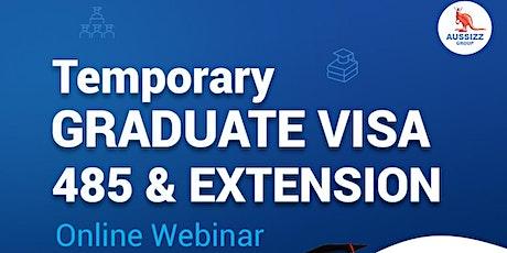 Post Study Work Visa 485 Extension - Webinar Registration tickets
