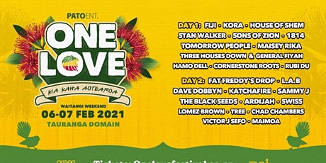 One love festival 2021 tickets
