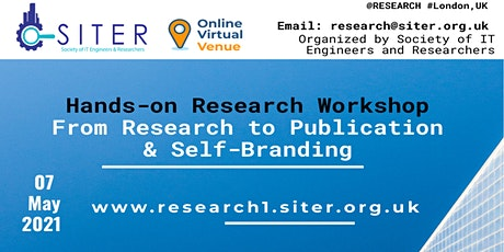 Hands-on Research Workshop: From Research to Publication & Self-Branding tickets
