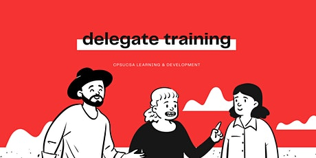 Albany - Delegate training tickets