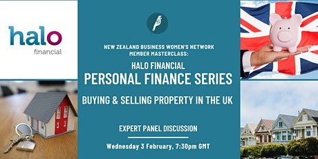 Member Masterclass: Finance series  - Buying & Selling UK Property tickets