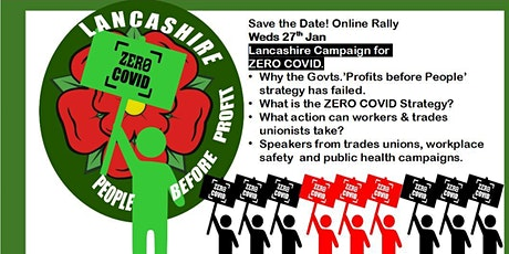 Lancashire - Fighting the Pandemic in the workplace and campaigning for Zer tickets