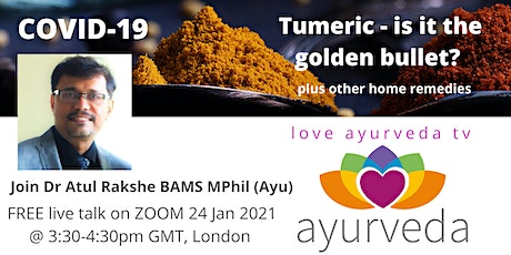 COVID-19, Turmeric is it the golden bullet?  Plus other kitchen remedies tickets