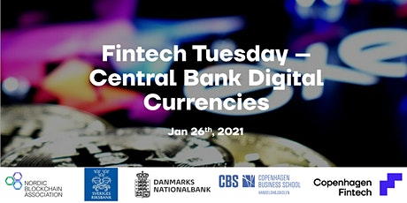 Fintech Tuesday - Central Bank Digital Currencies Tickets